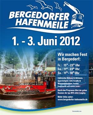 850 Jahre Bergedorf – Großes Stadtfest Bergedorfer Hafenmeile nächste Woche