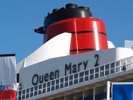 Queen Mary 2 morgen wieder in Hamburg