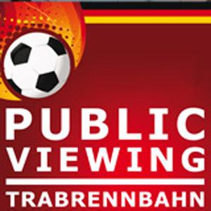 Fussball – Beim EM Public Viewing auf der Trabrennbahn auch im Regen trocken bleiben