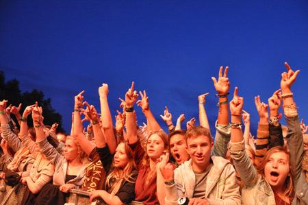 20.000 Besucher beim Dockville Festival 2012