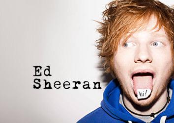 Ed Sheeran live in Hamburg in der Sporthalle