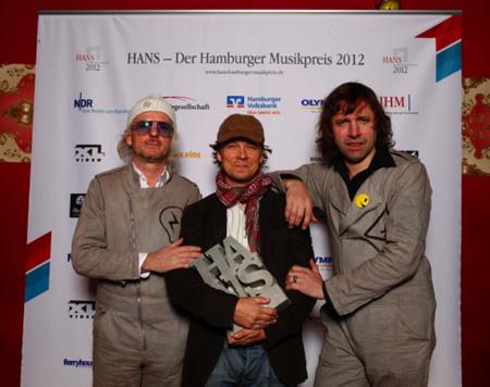 Die Preisträger des Hamburger Musikpreises HANS 2012