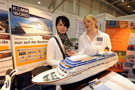 Kreuzfahrten großes Thema bei der diesjährigen Messe Reisen Hamburg