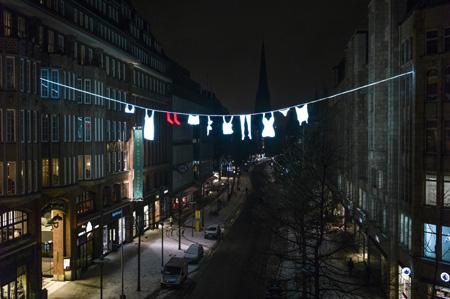 DRESSCODE lässt die Mönckebergstraße in neuem Licht erstrahlen