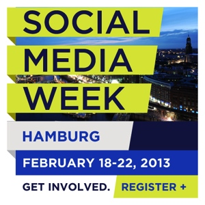 Social Media Week Hamburg 2013 – der Countdown läuft