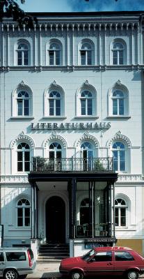 Das Literaturhaus in Hamburg im Februar