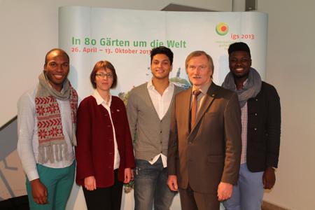 internationale gartenschau hamburg 2013 präsentiert ihr Konzept zum Event