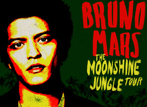Bruno Mars live in der O2 World Hamburg