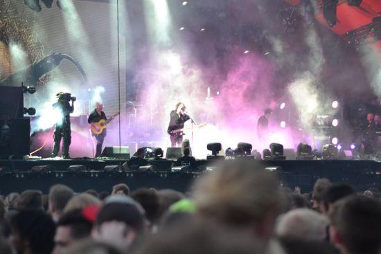 Roskilde Festival zu Gast beim MS DOCKVILLE in Hamburg