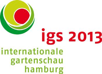 Schwimmend mit der Barkasse zur igs 2013, der Internationalen Gartenschau in Hamburg schaukeln