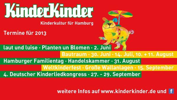 """Kinderkultur für Hamburg – am 2. Juni wird es wieder """"laut und luise"""""""