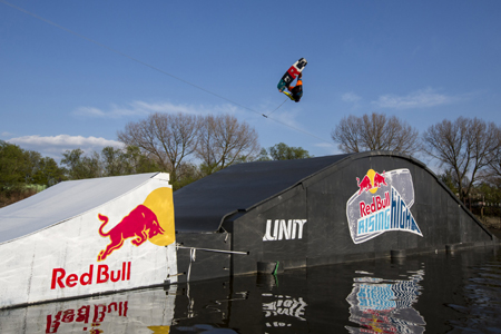 Weltpremiere beim Red Bull Rising High in der HafenCity