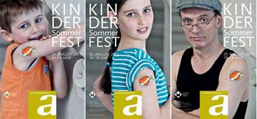 Das Kindersommerfest in Hamburg Altona