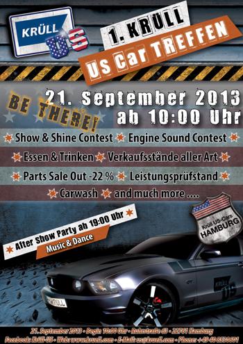 1. Krüll US-Car-Treffen in Hamburg