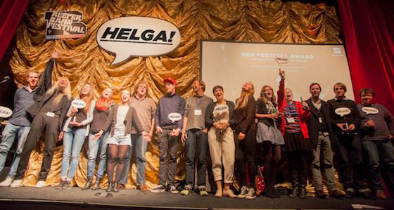 MS DOCKVILLE gewinnt HELGA! Festival Award 2013