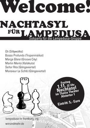 Nachtasyl für Lampedusa – Soli-Konzert