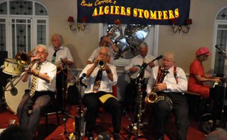 Jazz-Legende Brian Carrick mit Algiers Stompers live in der Handwerkskammer Hamburg