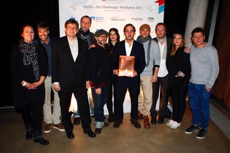 Hamburger Musikpreis HANS in acht Kategorien verliehen