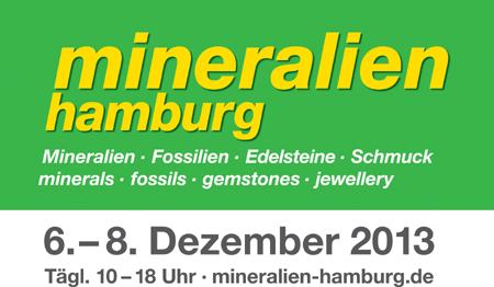 Edle Messe – mineralien hamburg 2013 vom 6. bis 8. Dezember