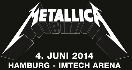 Metallica im Juni 2014 live in Hamburg in der Imtech Arena – Tickets hier