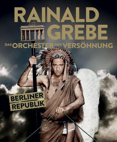 Im CCH Hamburg – Rainald Grebe & Das Orchester der Vesöhnung