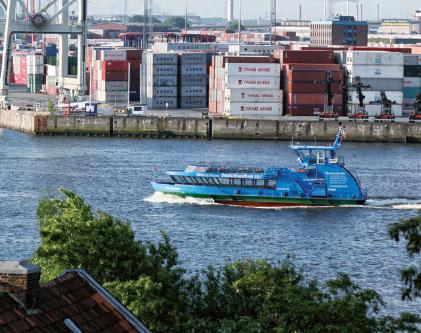 Jetzt hüpft die HADAG über die Elbe
