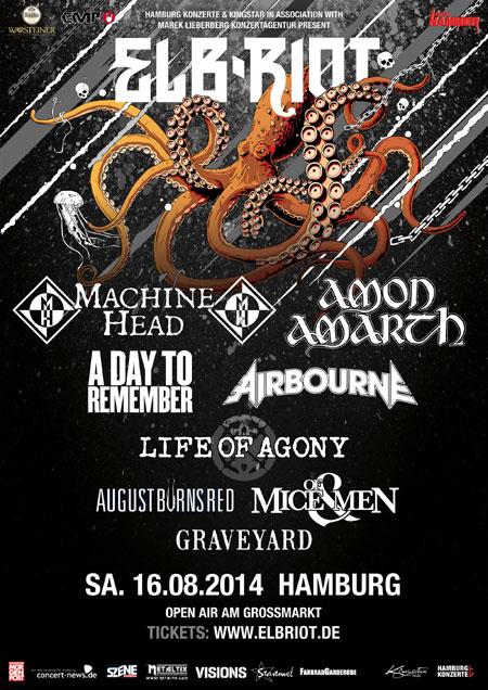 Weitere Bands für das ELBRIOT Festival