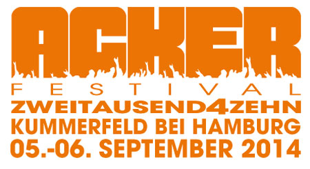 Weitere Bands für das Ackerfestival 2014 bei Kummerfeld gebucht