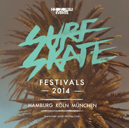 Surf & Skate Festival 2014 in Hamburg