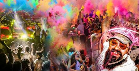 Farbenwahnsinn! Holi Festival of Colours 2014 in Hamburg