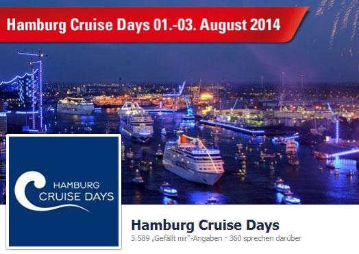Hamburg Cruise Days 2014 – Die Welt der Kreuzfahrt in Hamburg