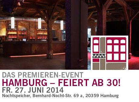 Party im Nochtspeicher Hamburg –  FREIZEIT NETZWERK HAMBURG
