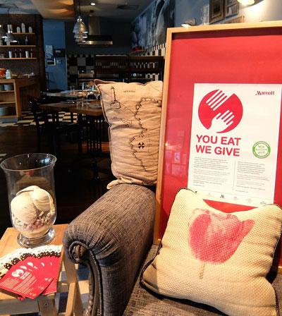 Gewinne ein Drei-Gänge Menü! Benefizkampagne: Im Hamburg Marriott Hotel schlemmen und so Gutes tun!