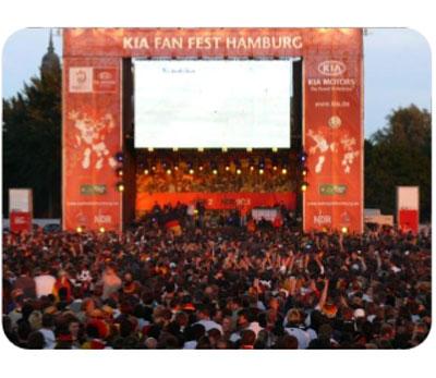 Morgen großes Aufwärmprogramm zum Achtelfinale in der Kia Fan-Arena Hamburg