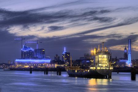 Das Blaue Wunder in Hamburg! BLUE PORT HAMBURG 2014