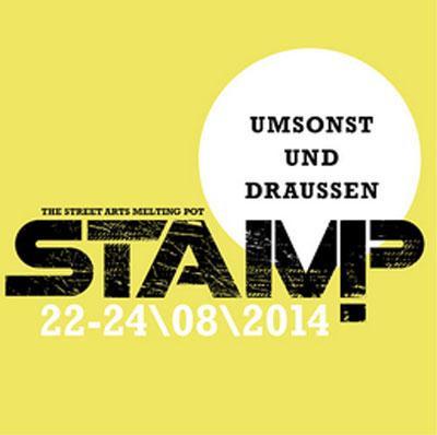 STAMP – Straßenkunst in Hamburg Altona – Neuauflage 2014
