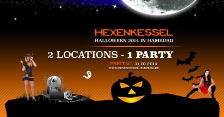 Hamburg: Die Halloween Hexenkessel Party mit Verkleidungspflicht