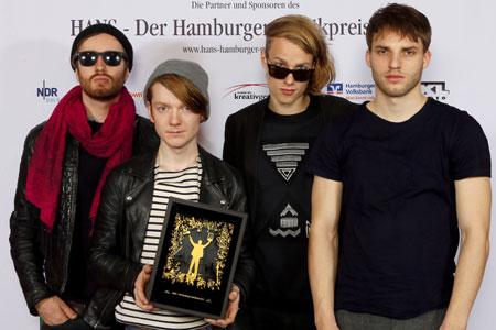 Hamburger Musikpreis HANS verliehen