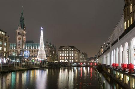 Auch in Hamburg starten heute die Weihnachtsmärkte