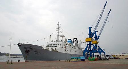 Kulturschiff MS Stubnitz bleibt im Hamburger Hafen