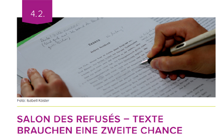 MANUSKRIPTE GESUCHT für den »Salon des Refusés – im Literaturhaus Hamburg