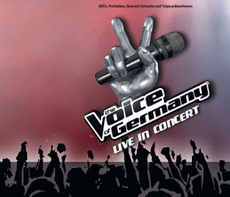 Live in Hamburg:  The Voice of Germany in der O2 World