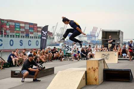 Surf & Skate Festival in Hamburg