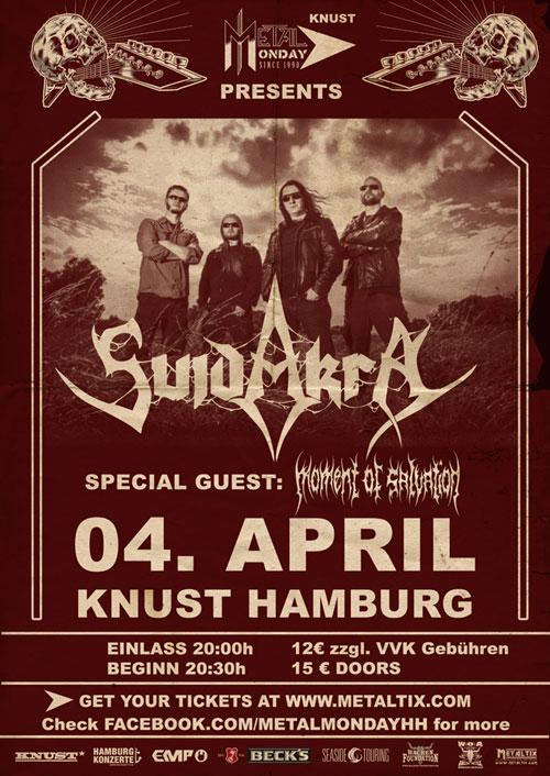 Knust Hamburg: Der Metal Monday ist zurück