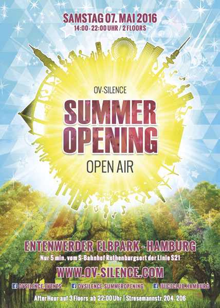 ov-silence Summer Opening 2016 in Hamburg