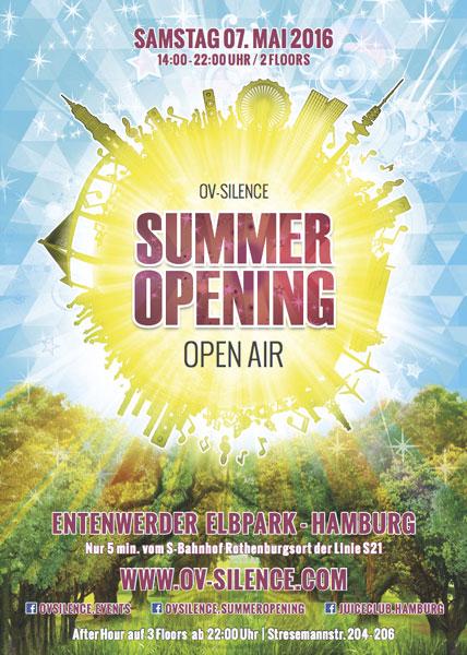 ov-silence Summer Opening 2016 in Hamburg