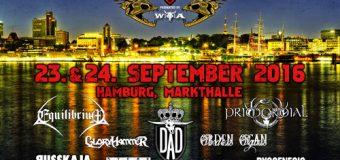 Hamburg Metal Dayz machen das Dutzend voll