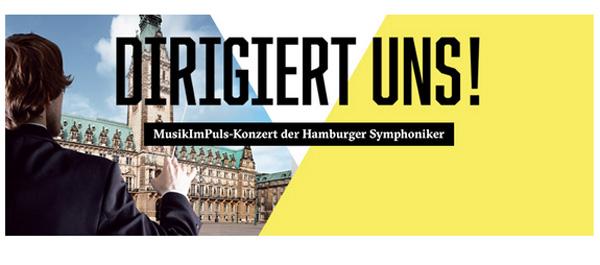 Hamburger Symphoniker gastieren im Innenhof des Hamburger Rathauses