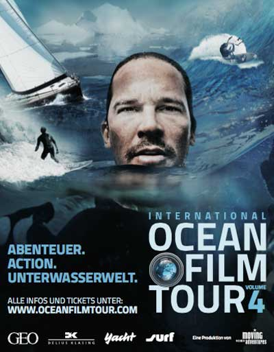 International OCEAN FILM TOUR Volume 4 in Hamburg