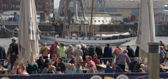 Hamburger Hafengeburtstag: Das traditionelle Schlepperballett am Samstag um 18 Uhr